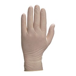 Guante latex empolvado