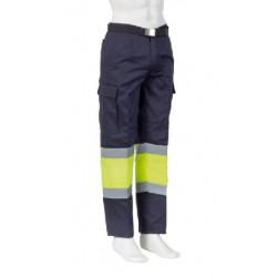 Pantalon AV bicolor