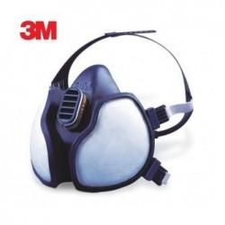 Media máscara 3M serie 4000